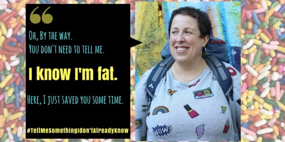 plus-size backpacker fat-shaming i know i'm fat twitter