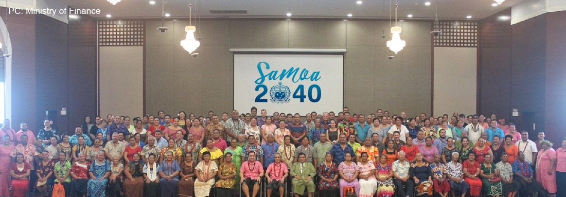 """""""Samoa 2040"""" looks at transforming Samoa to a higher growth path in the next 20 years"""