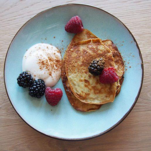 ontbijt met banaan