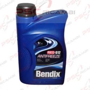 LIQUIDO RADIATORE ANTIGELO 1L BENDIX ANTIFREEZE RED G12