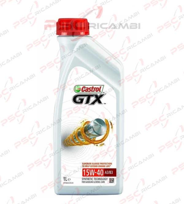 OLIO MOTORE 1L CASTROL GTX 15W-40 A3/B3