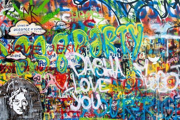 free photo lennon wall prague love graffiti free image on pixabay