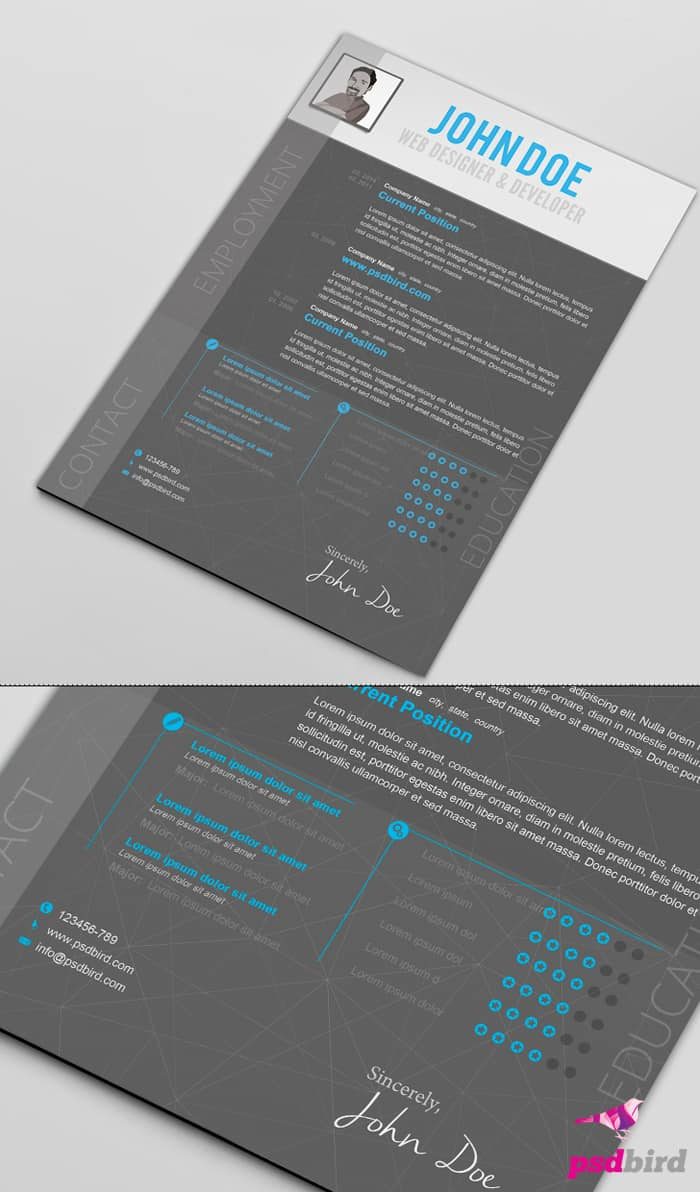 best place for resume templates