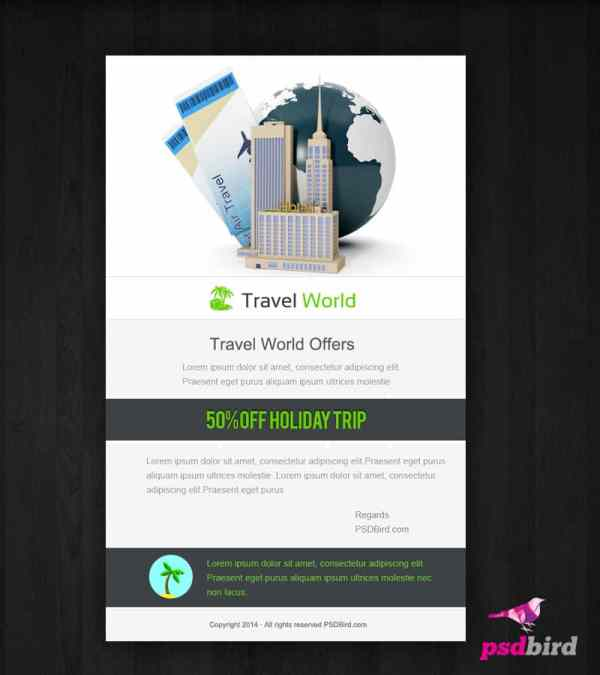 Free Web Banner Promotional Page Psd - Psdbird