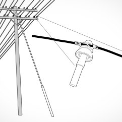 Telephone Pole Diagram Actual Photo Of Control Wiring Star Delta Starter Guy Wire Electrical Post