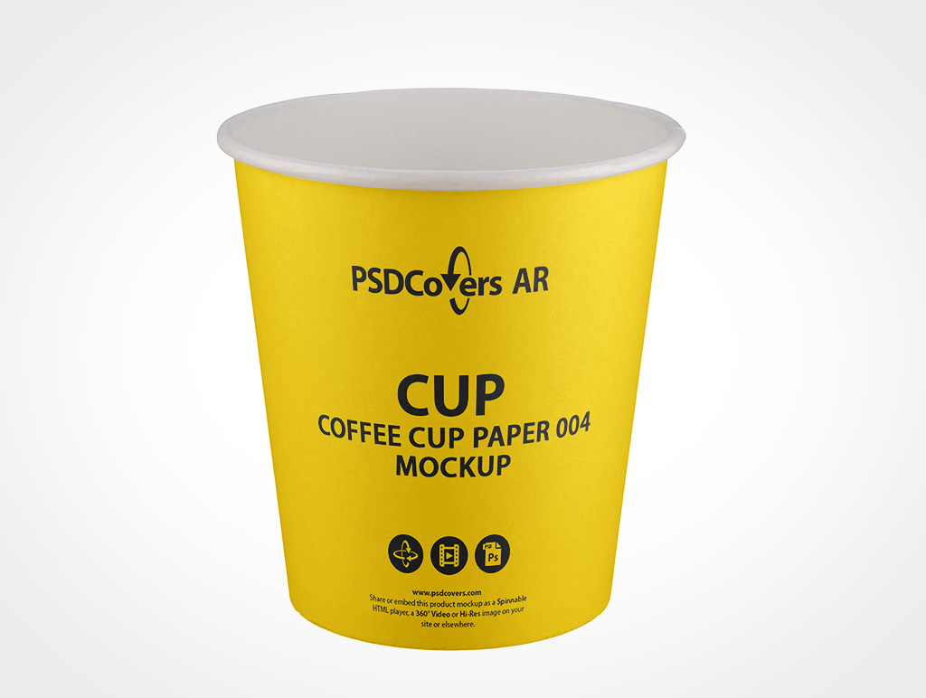 Free psd packaging mockups templates for: White Paper Cup Mockup Psdcovers Makes Creating Mockups Easy