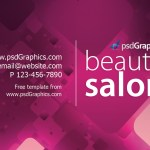 Beauty Salon Business Card Template Psdgraphics