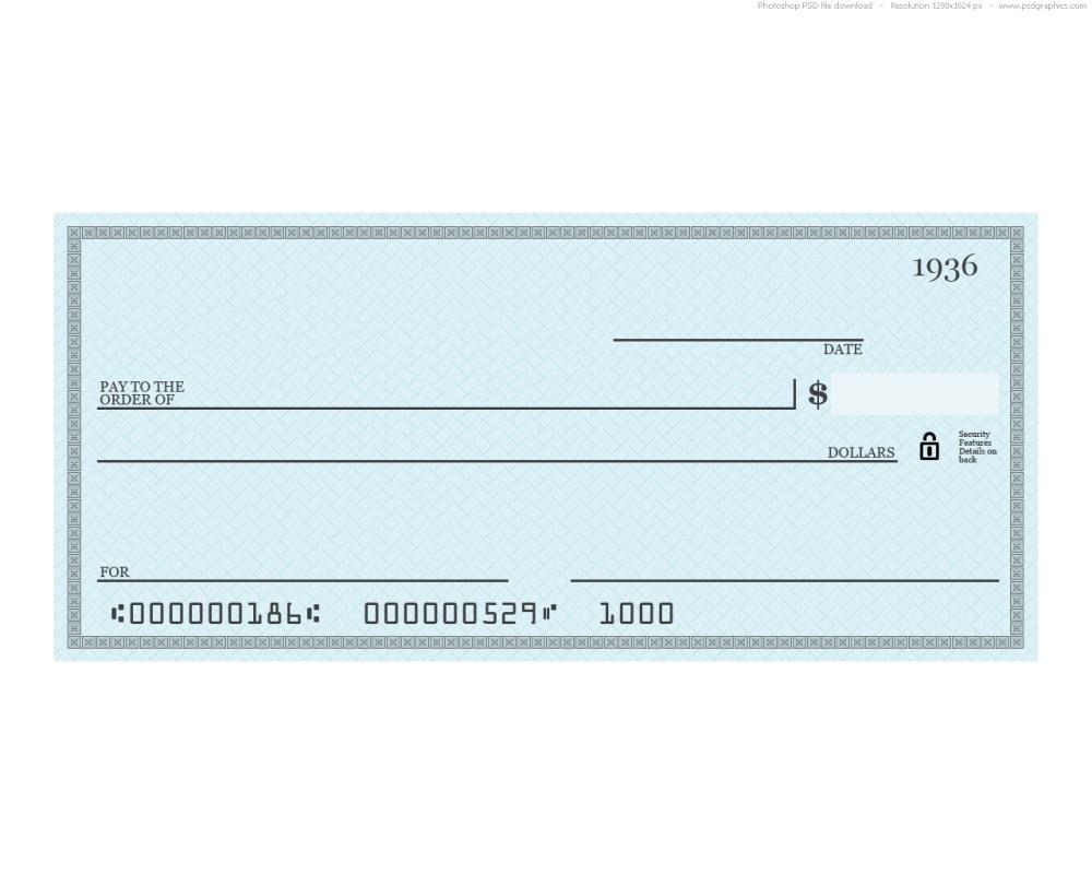 medium resolution of blank blue check
