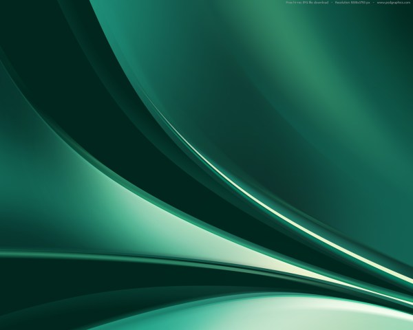 Dark Blue and Green Abstract