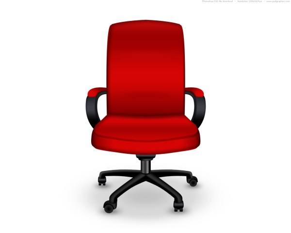 red office chair Red office chair PSD icon | PSDGraphics