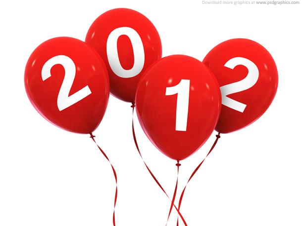 New Year 2012 Celebration PSDGraphics
