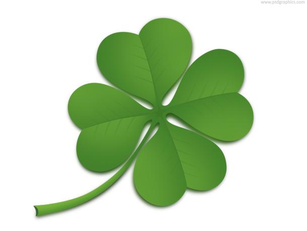 Leaf 4 Clover Good Luck