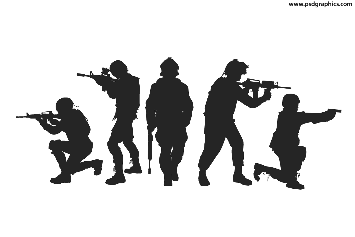 Sol Rs Silhouettes Vector