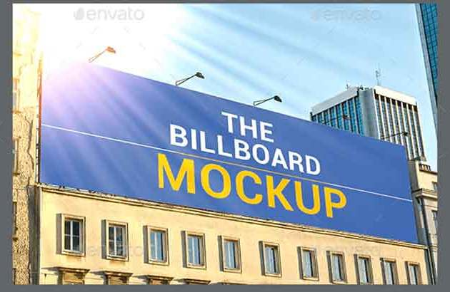 Billboard Mockup 23563363 envatomarket Free Download PSDLY4