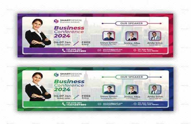 Conference Facebook Cover By Graphstates Free Download