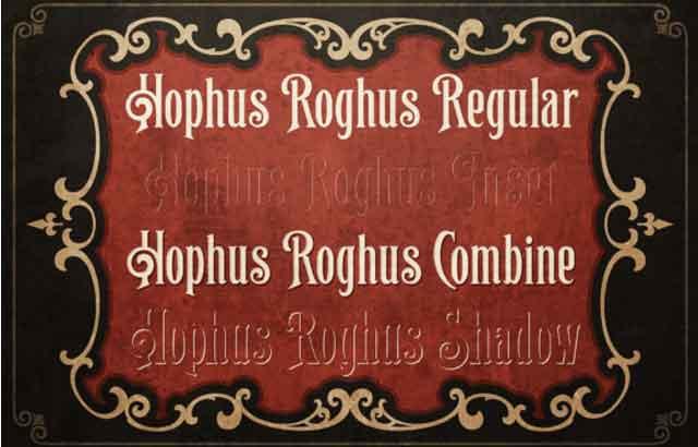 hophus-roghus-display-font-free-download