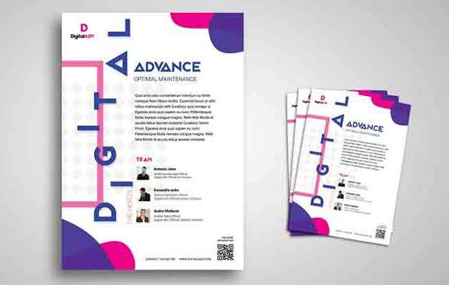 Seminar and Workshop Flyer Promo Template Free Download