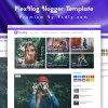 FlexBlog Blogger Template Premium Version Free Download