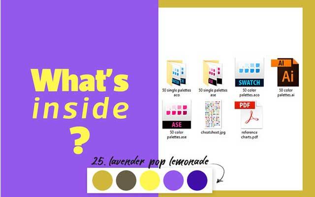 50 Color Palettes for Branding