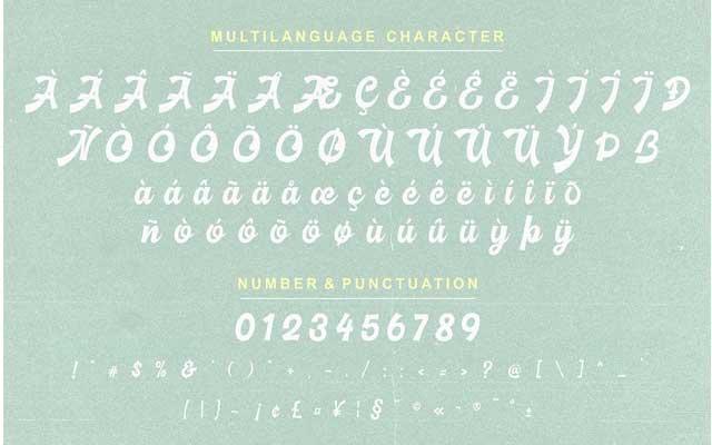 Basuki Script Font