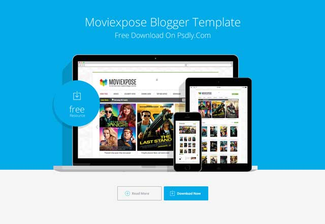 Moviexpose Blogger Template