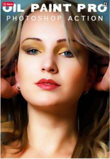 Oil Paint Pro Photoshop Action4