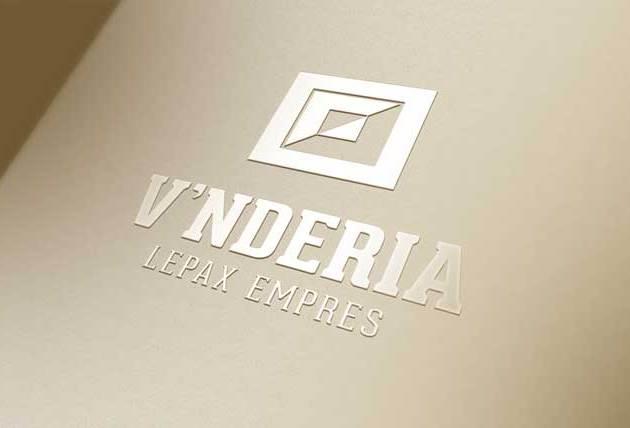 leather texture background Logo Mockup