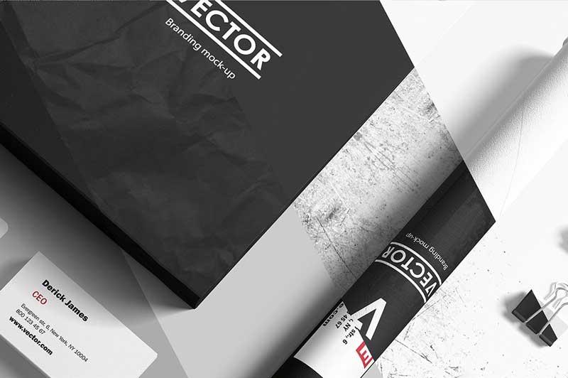 Branding Elements Mock-ups 42271