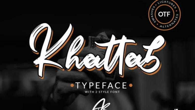 Creativefabrica Khattab Script Font Download