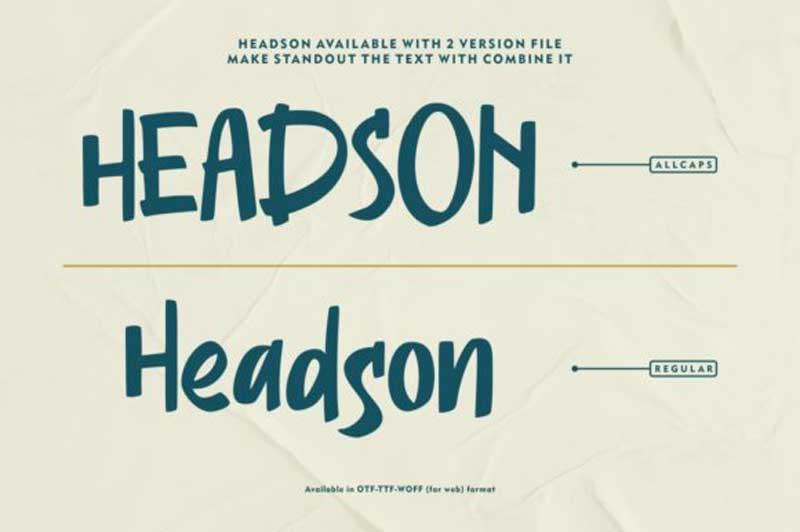 Creativefabrica Headson Font