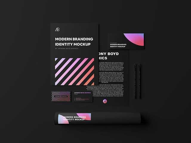 Modern-Branding-Identity-Mockup
