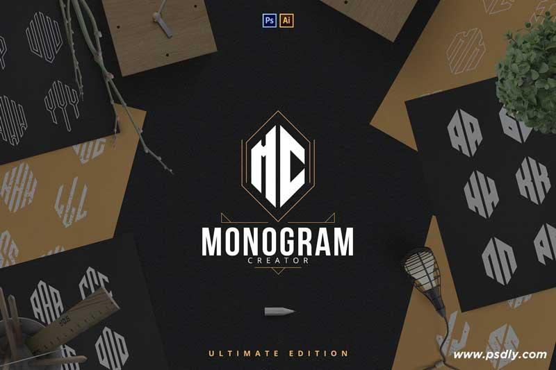 6in1 Ultimate Monogram creator 2662762