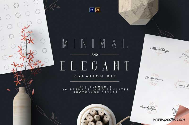 Minimal and Elegant Creation Kit 2969006