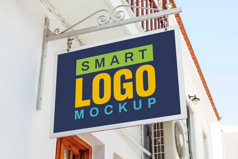 Logo Mockup Sign