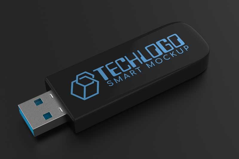 Logo Mockup USB Stick