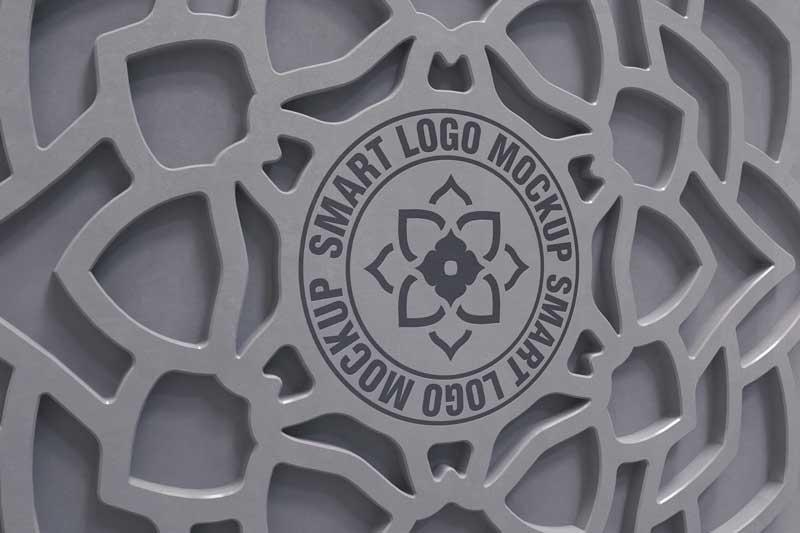 Wall  Decorative Logo Mockup