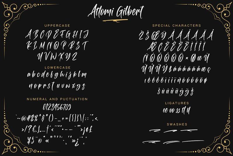 attomi-gilbert-script-font