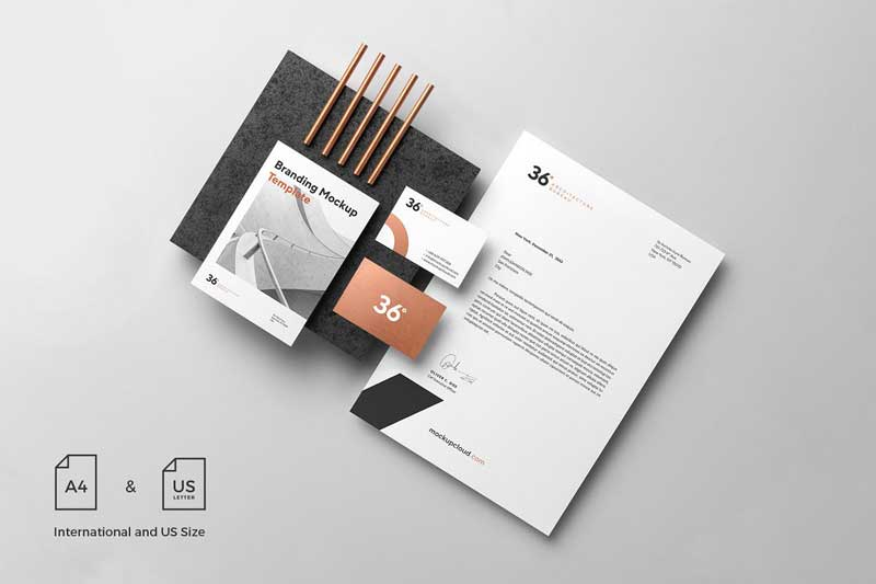 Copperstone Branding Mockup Vol. 1 download 1