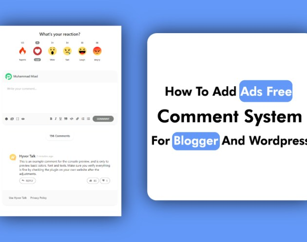 Disqus Alternative Free Comment System For Blogger