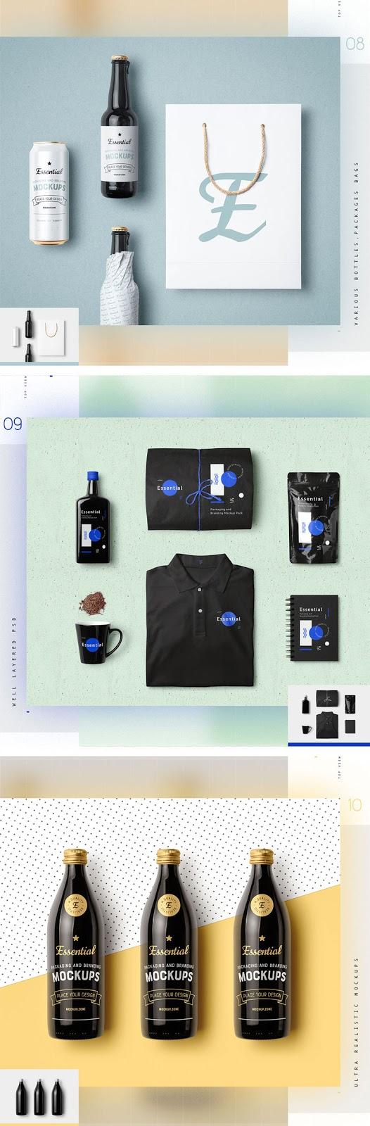 Essential Packaging Branding Mockup 1351937 4