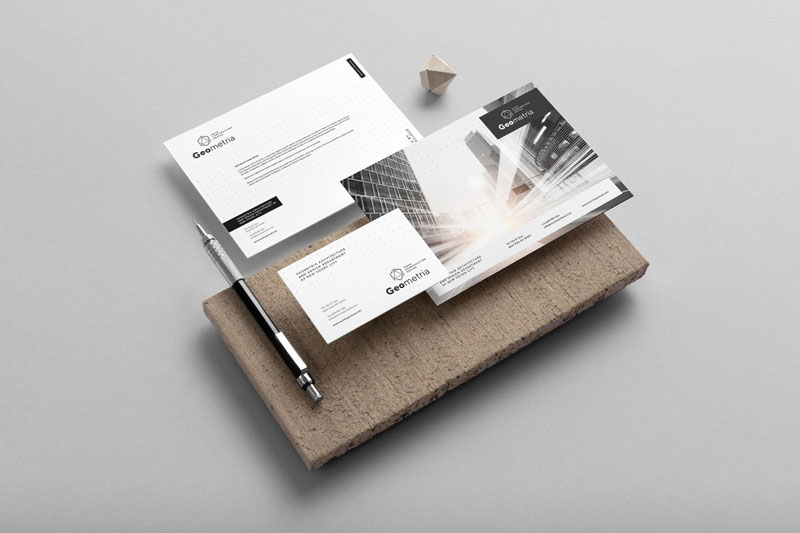 Geometria Branding Mockup 1