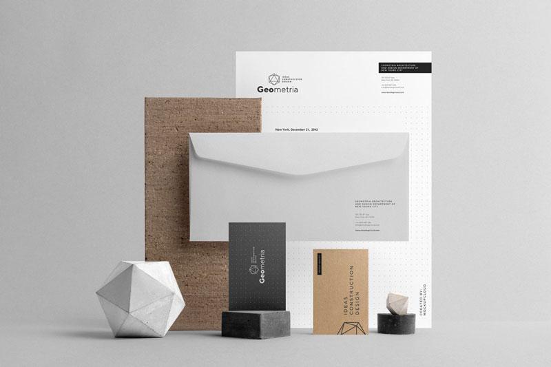 Geometria Branding Mockup 3