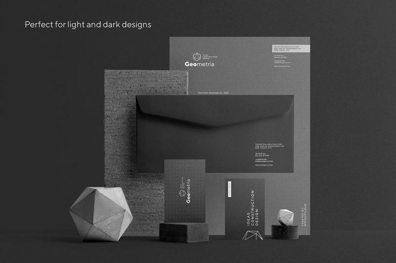 Geometria Branding Mockup 4