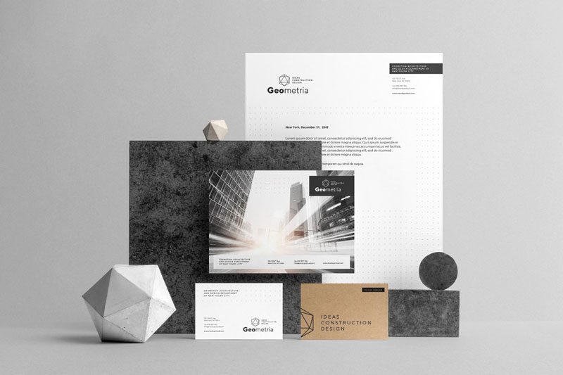 Geometria Branding Mockup 5