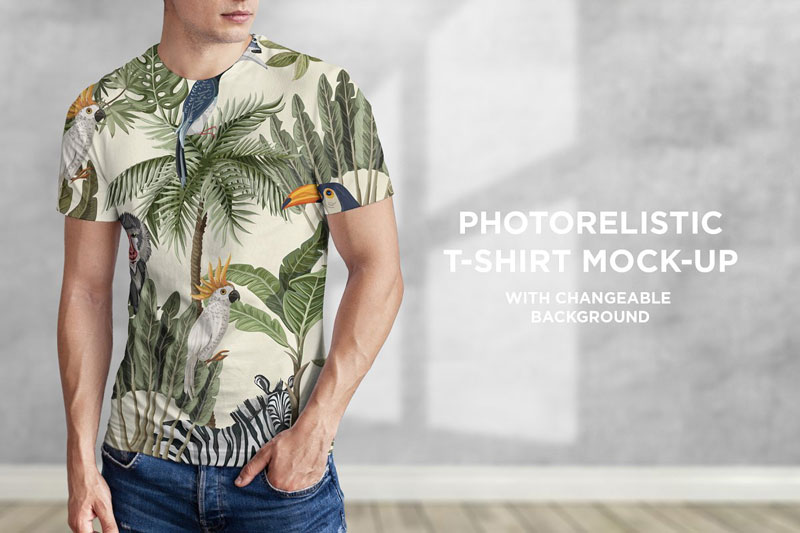 Isolated T Shirt Mock Up 1