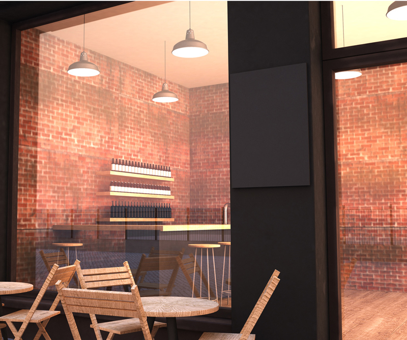 Outdoor Cafe Mockup 1