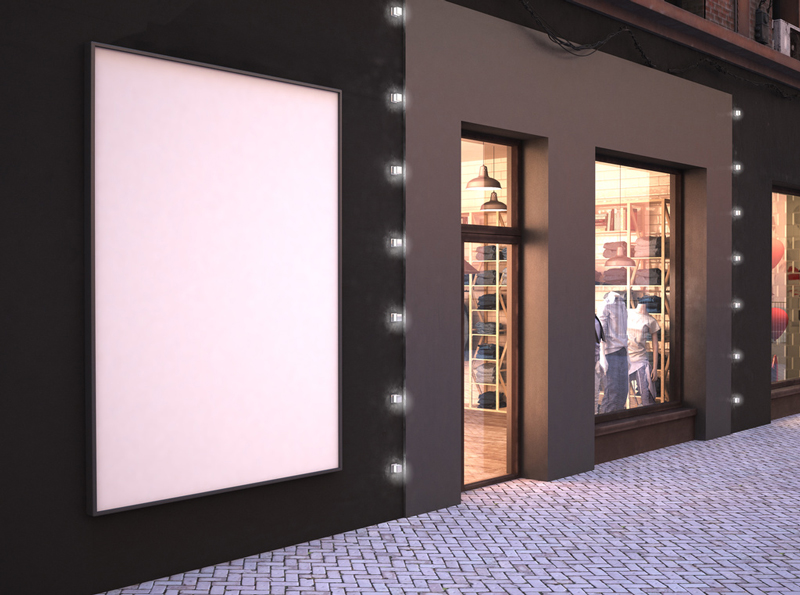 Store Exterior Mockup 1