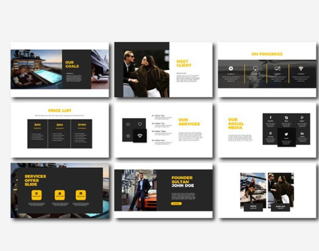 Sultan Powerpoint Google Slides and Keynote Templates 2