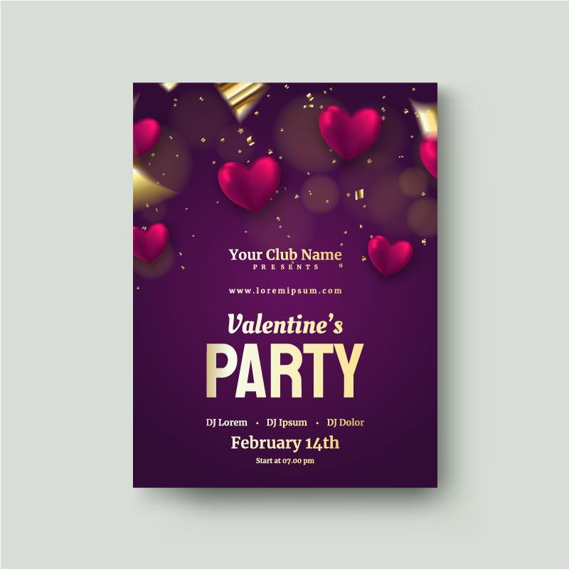 valentines day flyer 2
