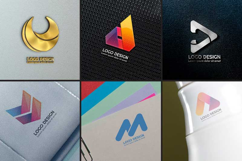 984 Modern Logo Shape